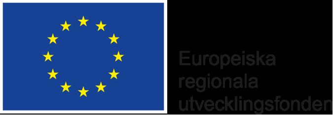 Logotyp Europeiska unionen Europeiska regionala utvecklingsfonden